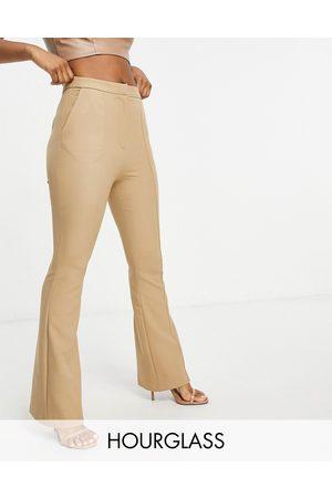 ASOS Hourglass - Pantalon slim évasé à coutures
