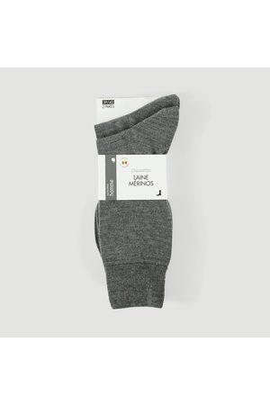 Monoprix Homme Chaussettes & Bas - Lot de 2 paires de chaussettes en laine