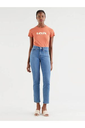Levi's 314™ Shaping Straight Jeans Neutral / Lapis Speed