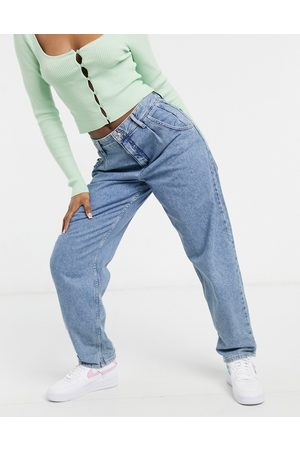 Pull&Bear Femme Baggy & Large - Jean ample