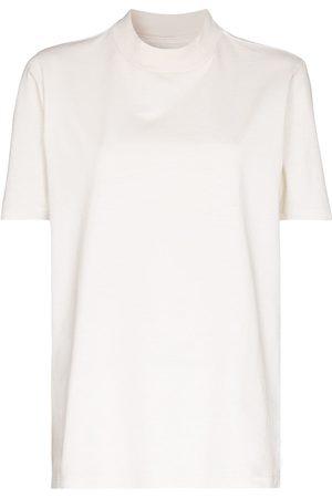 Les Tien T-shirt en coton à col montant