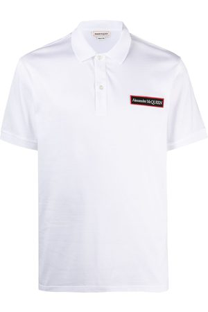 Alexander McQueen Polo à patch logo