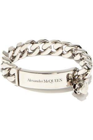 Alexander McQueen Bracelet chaîne gourmette à charm skull