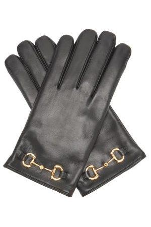Gucci Gants en cuir Horsebit