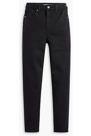 Levi's High Waisted Taper / Flash Black
