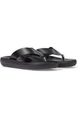Ancient Greek Sandals Tongs Charys en cuir