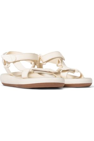 Ancient Greek Sandals Sandales Poria en cuir