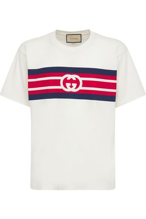 Gucci T-shirt En Coton Imprimé Gg