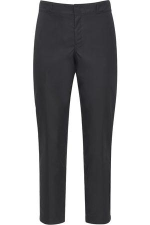 Prada Pantalon En Nylon Avec Logo