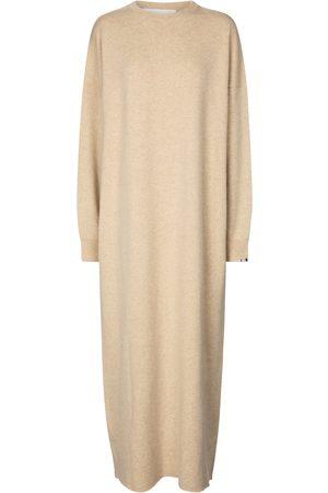 EXTREME CASHMERE Robe Weird N° 106 en cachemire mélangé