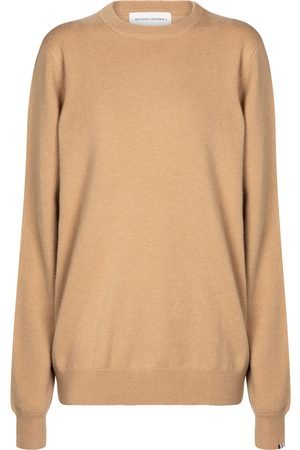 EXTREME CASHMERE Pull Be Camel en cachemire