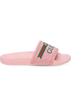 Gucci Claquettes En Caoutchouc