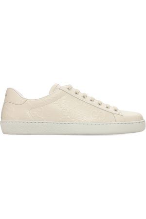 "Gucci Sneakers En Cuir ""gg New Ace"" 15 Mm"