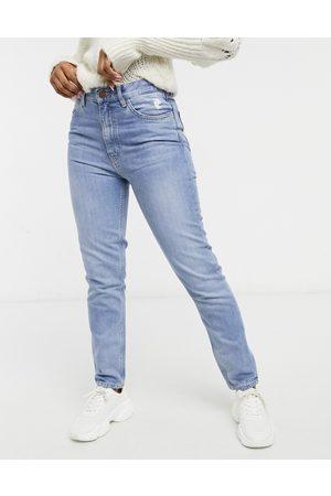 MiH Jeans MiH - Mimi - Jean droit taille haute en denim