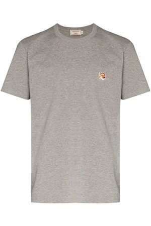 Maison Kitsuné T-shirt à patch renard