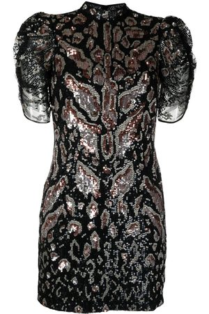 TEMPERLEY LONDON Robe courte brodée de sequins