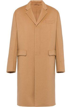 Prada Manteau texturé à simple boutonnage