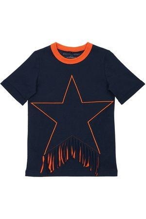 Stella McCartney Robe En Coton Biologique Détail Patch Étoile