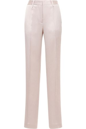 OFF-WHITE Pantalon Large En Satin Froissé