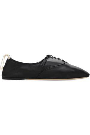Loewe Chaussures Derby À Lacets En Cuir Souple 10 Mm