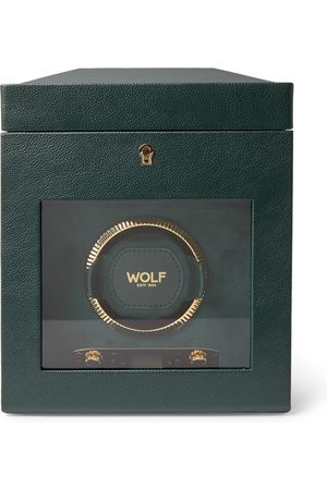 Wolf Homme Montres - British Racing Pebble-Grain Vegan Leather Watch Winder