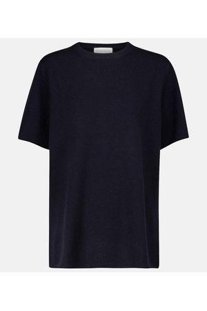 EXTREME CASHMERE Top N° 64 Tshirt en cachemire mélangé