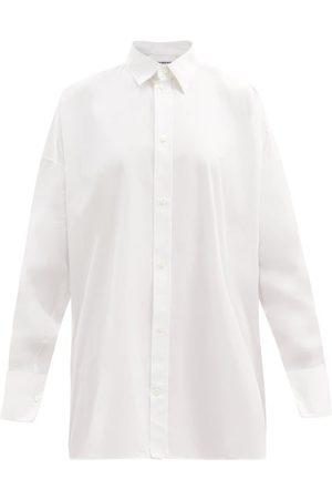 Balenciaga Chemise en popeline de coton oversize