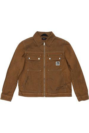 Diesel Cotton Twill Workwear Jacket