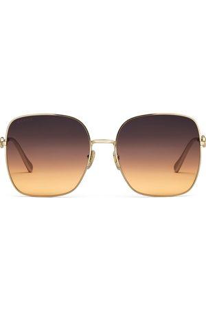 Gucci Lunettes de soleil carrées