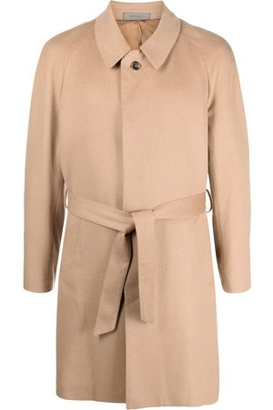 corneliani Manteau texturé à taille ceinturée