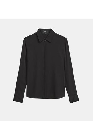 THEORY Chemise Fitted soie