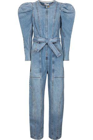 ULLA JOHNSON Combi-pantalon Pascale en jean