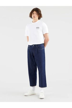 Levi's Stay Loose Pleated Crop Jeans Neutral / Beam Sea Rinse