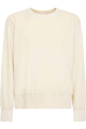 Les Tien Femme Sweatshirts - Sweat-shirt Court En Coton