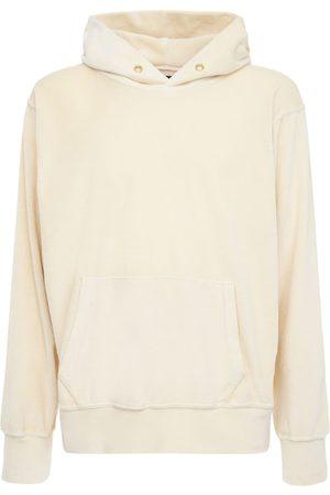 Les Tien Sweat-shirt Court En Coton À Capuche