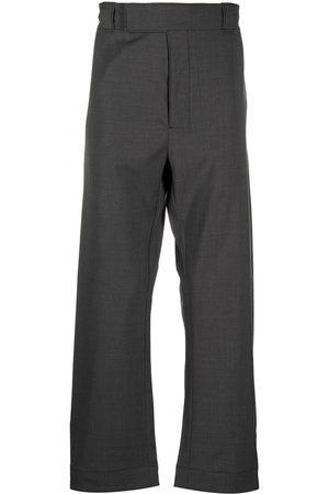 Prada Homme Pantalons coupe droite - Pantalon droit texturé