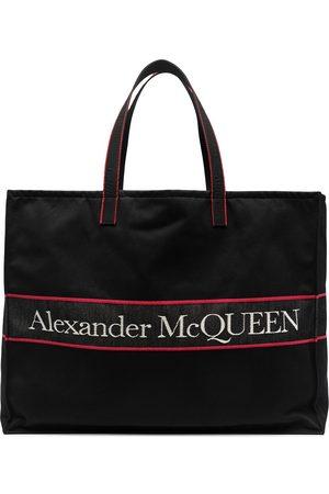 Alexander McQueen Sac cabas à logo East West