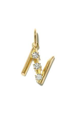 Jade Trau Charm à initiale en 18 carats (N-Z)
