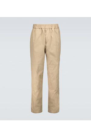 Jil Sander Pantalon ample en coton