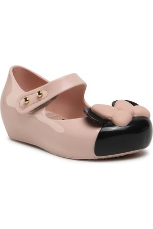 Melissa Chaussures basses - Mini Ultragirl + Mickey 33344 Pink/Black 53921