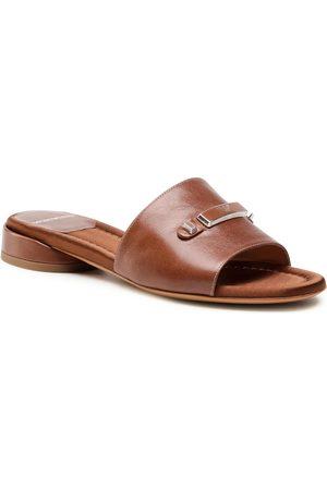 Emporio Armani Femme Mules & Sabots - Mules / sandales de bain - X3P752 XF535 00223 Tabacco
