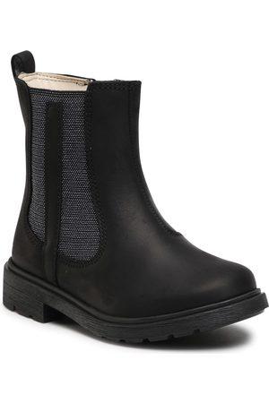 Clarks Bottes de randonnée - Astrol Orin T 261541066 Black Leather