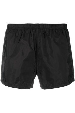 Prada Homme Vêtements de plage - Short de bain à patch logo