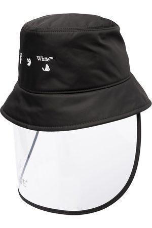 OFF-WHITE Femme Chapeaux - MASK BUCKET HAT BLACK BLACK