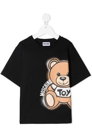 Moschino T-shirt à imprimé ours
