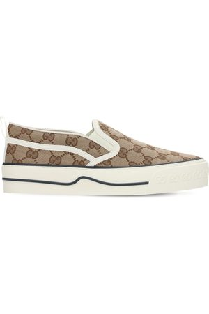 "Gucci Femme Baskets - Sneakers Sans Lacets "" Tennis 1977"" 20 Mm"