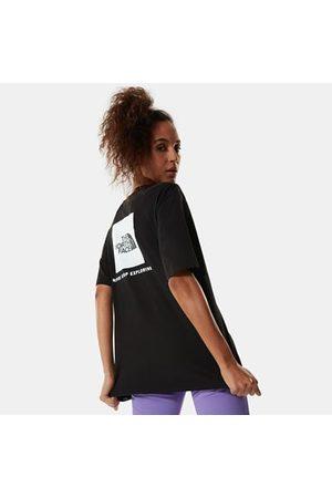 The North Face T-shirt Redbox Coupe Boyfriend Pour Femme Tnf Black Taille L