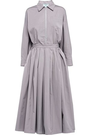Prada Robe-chemise zippée