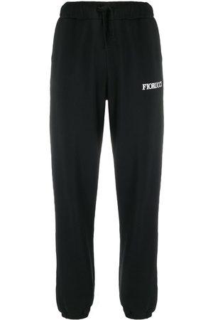 Fiorucci Pantalon de jogging à patch illustré