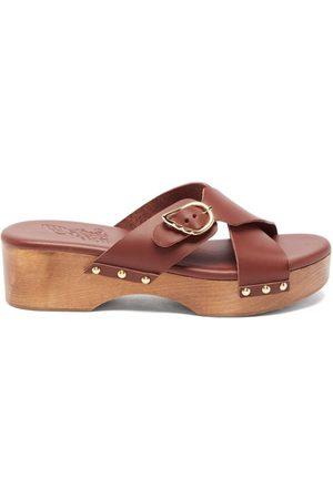 Ancient Greek Sandals Sabots en cuir Marlisa